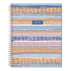 Blue Sky Jasper Monthly Wirebound Planner