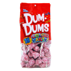 Dum Dums Watermelon Lollipops Party Hot