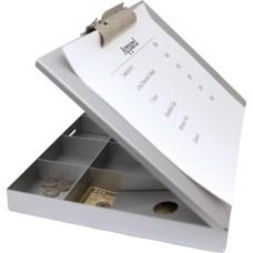 Saunders Cash Box Clipboard Heavy Duty