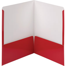 Smead High Gloss 2 Pocket Folders