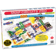 Elenco Electronics Snap Circuits Pro 500