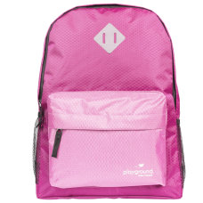 Playground Hometime Backpacks FuchsiaPink Pack Of