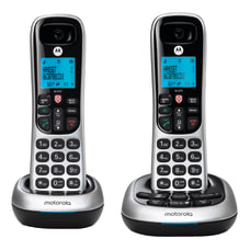 Motorola CD4012 2 Handset Cordless Telephone