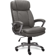 Serta Big And Tall Bonded Leather