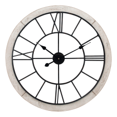 FirsTime Co Timeworn Cottage Wall Clock
