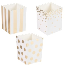 60 Pack Mini Popcorn Boxes 16oz