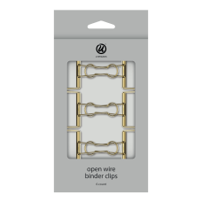 U Brands Open Wire Binder Clips