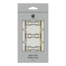 U Brands Open Wire Binder Clips