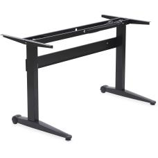 Lorell 54 W Height Adjustable Desk