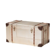 Baxton Studio French Industrial Storage Trunk