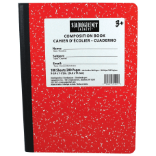 Sargent Art Composition Books 7 12