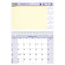 AT A GLANCE QuickNotes Monthly DeskWall