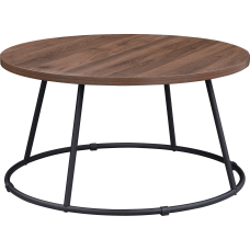 Lorell Round Coffee Table 16 34