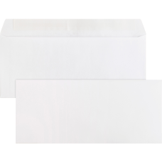Business Source Plain PeelSeal Business Envelopes