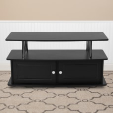 Flash Furniture TV Stand With 2