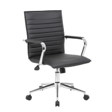Boss Office Products Sleek Ribbed Task
