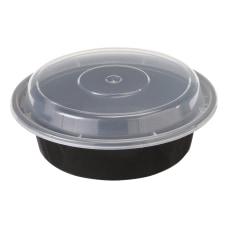 Pactiv VERSAtainer Containers 05 Qt BlackClear