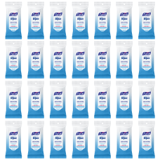 Purell Hand Sanitizing Wipes Clean Scent