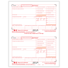 ComplyRight W 2 Tax Forms InkjetLaser