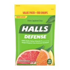 Halls Assorted Citrus Defense Drops Pack