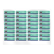Custom Full Color Sheet Address Labels