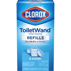 Clorox Disinfecting ToiletWand Refills Pack Of