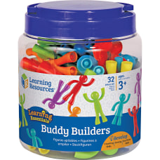 Learning Resources Ages 3 Buddy Builders