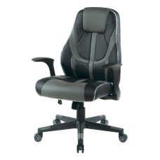 Office Star Output Faux Leather Gaming
