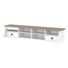 Bush Furniture Mayfield Desktop Organizer Pure