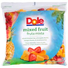 Dole Frozen Fruit 5 Lb