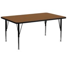 Flash Furniture 72W Rectangular HP Laminate