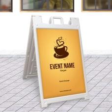 Custom A Frame Sign