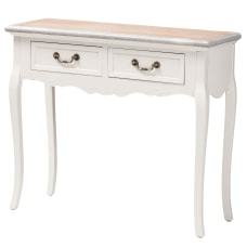 Baxton Studio Country Console Table 30
