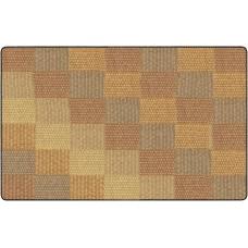 Flagship Carpets Basketweave Blocks Classroom Rug