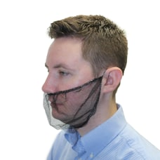 Impact Nylon Mesh Beard Covers One
