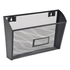 Lorell Mesh Single Wall Pockets 8