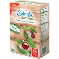 Splenda Naturals Stevia Sweetener Packets Box