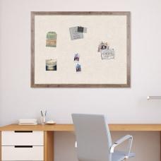 U Brands Decor Linen Bulletin Board