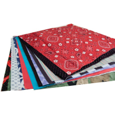 Hygloss Craft Fabric Squares Decoration Project