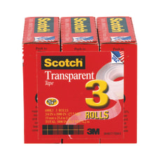 Scotch Transparent Tape 34 x 1000