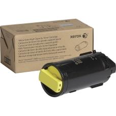 Xerox Original Toner Cartridge Yellow Laser