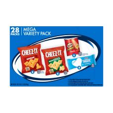 Kelloggs 4 Flavor Mega Snack Variety