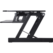 Lorell Adjustable Desk Riser Plus Black