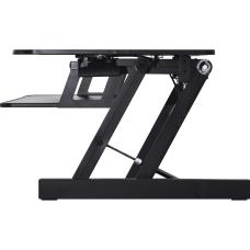 Lorell Adjustable Desk Riser Plus Black