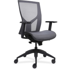 Lorell High Back Mesh Chair Black