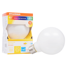 Sylvania LEDvance G25 Dimmable 350 Lumens