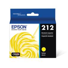 Epson Claria 212 Yellow Ink Cartridge