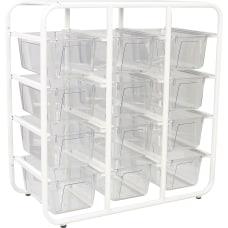 Storex Cubby Bin Storage Rack 157