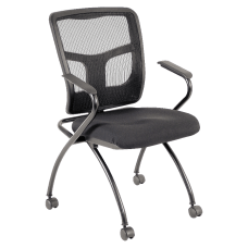 Lorell Guest Chairs BlackBlack 2Carton