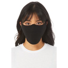 Bella Canvas Cloth Face Coverings Black